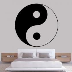 Sticker Mural Ying Yang