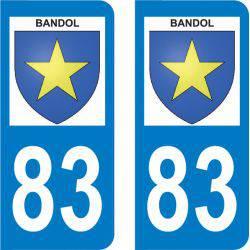 Autocollant Plaque Bandol 83150