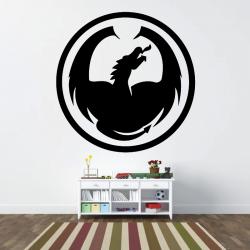 Sticker Mural Dragon
