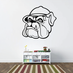 Sticker Mural Dog