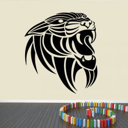 Sticker Mural Tigre