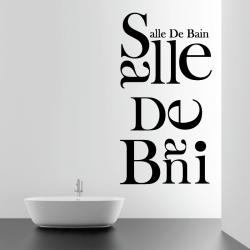 Sticker Mural Lettrage...