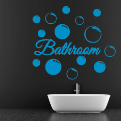 Sticker Mural Salle De Bain Bathroom - 1