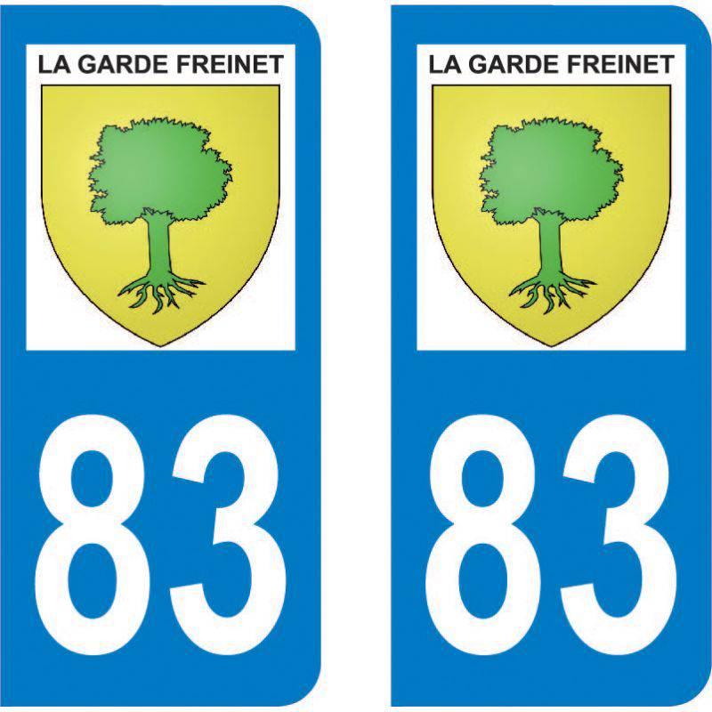 Autocollant Plaque La Garde-Freinet 83680