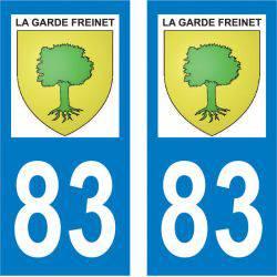 Sticker Plaque La Garde-Freinet 83680