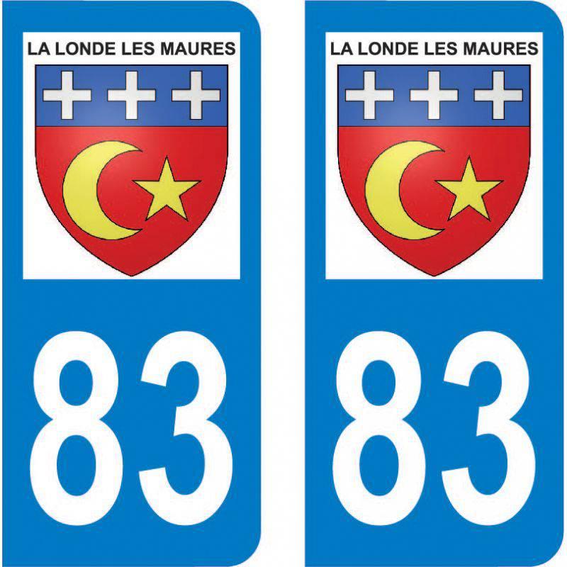 Autocollant Plaque La Londe-les-Maures 83250