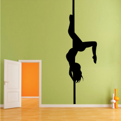 Sticker Mural Pole Dance