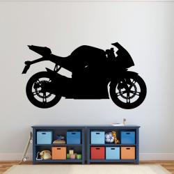 Sticker Mural Moto Sport