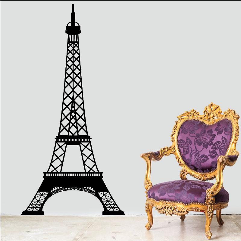 Sticker Mural Tour Eiffel - 1