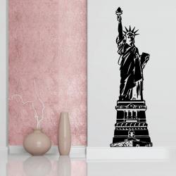 Sticker Mural Statue De La...