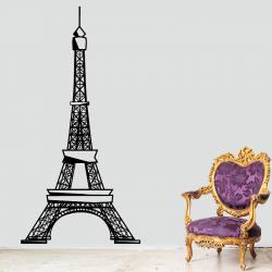 Sticker Mural Tour Eiffel...