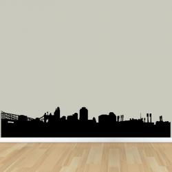 Sticker Mural Ornement Ville