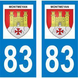 Sticker Plaque Montmeyan 83670