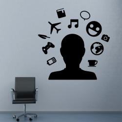 Sticker Mural Bureau...