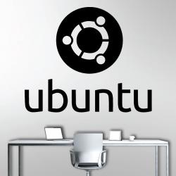 Sticker Mural Linux Ubuntu