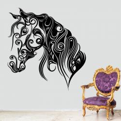 Sticker Mural Cheval Design