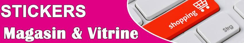 Stickers Magasin & Vitrine