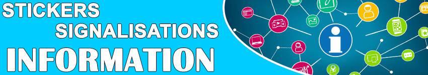Autocollant De Signalisation Information & Autre | ZoneStickers