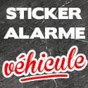 Stickers Alarme