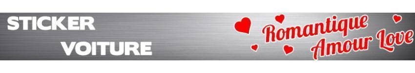 Stickers Amour Romantique
