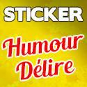 Stickers Humour Fun