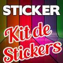 Plaquette de Stickers