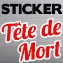 Sticker Tete De Mort - Skull