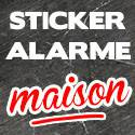 Stickers Alarme Maison