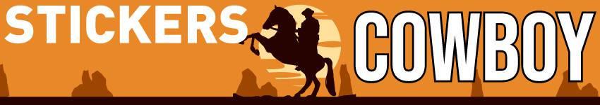 Stickers Muraux Sticker Cowboy