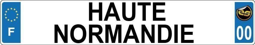 Sticker Immatriculation Haute Normandie
