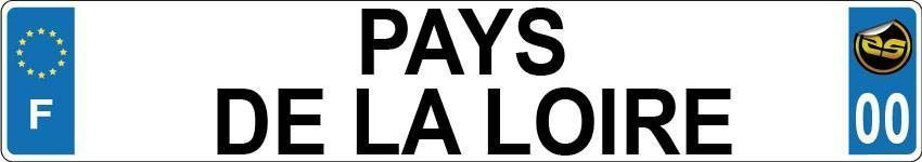 Sticker Immatriculation Pays De La Loire
