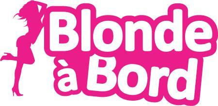 Autocollant Blonde à Bord