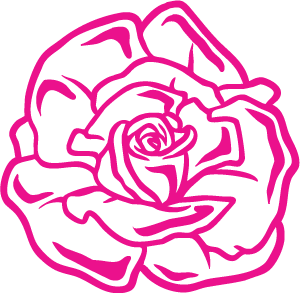 Sticker Rose