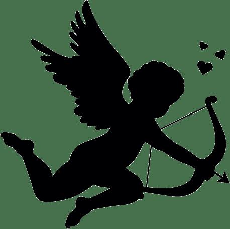 Autocollant Cupidon