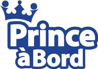 autocollant prince à bord
