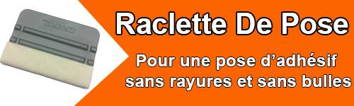 Raclette de pose pour autocollants